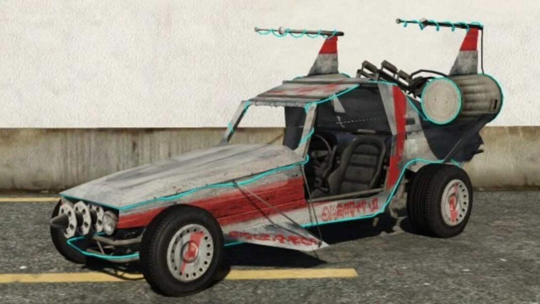 How to get Space Docker buggy in GTA 5