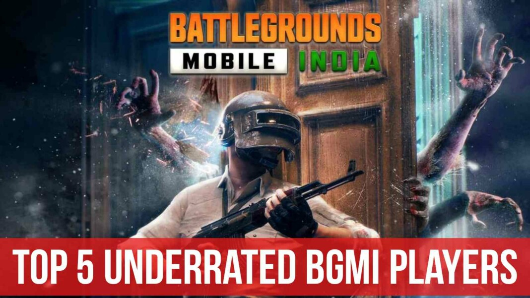 Top 5 underrated players of BGMI