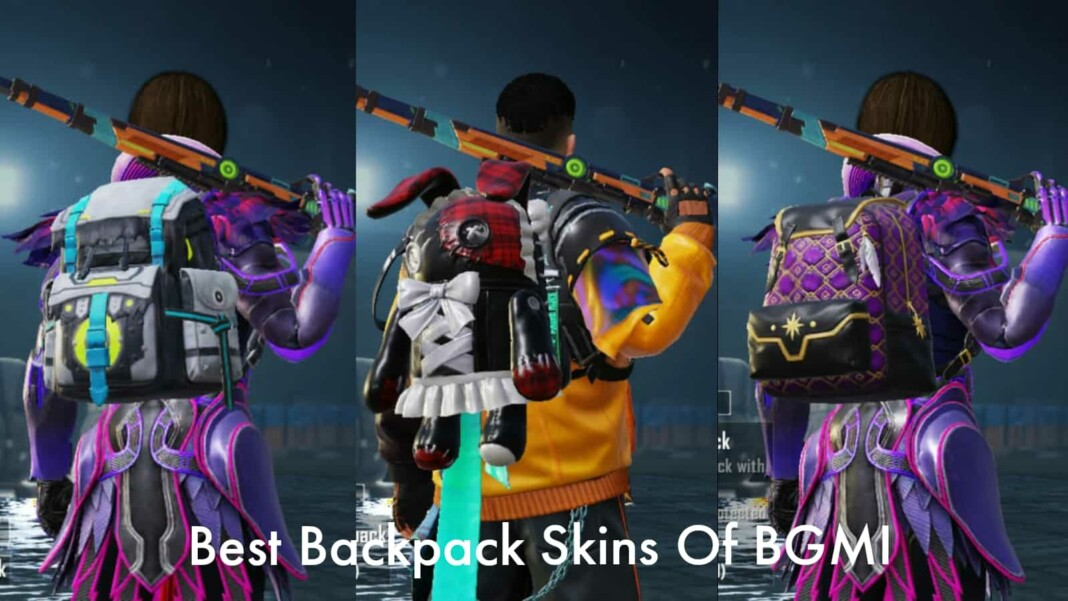 Top 5 best backpack skins in BGMI