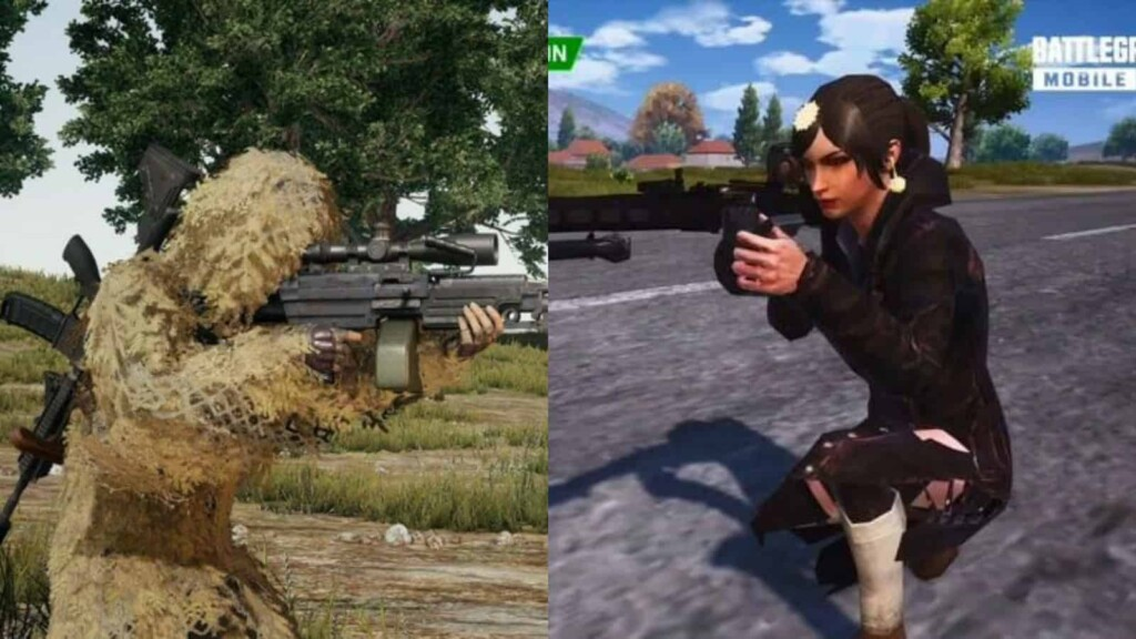 Battlegrounds Mobile India: M249 vs MG3 Which gun is better in BGMI ?
