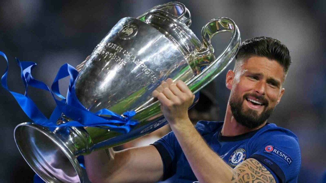 OFFICIAL: Olivier Giroud ends his term with Chelsea FC to join Italian giants AC Milan