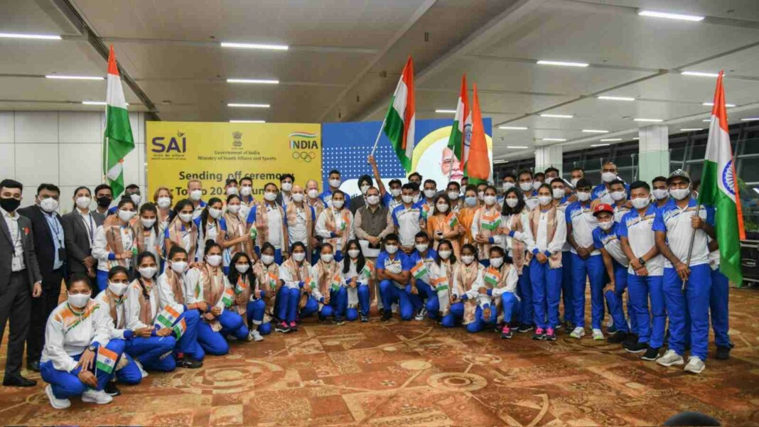 Indian Olympic Contingent for Tokyo Olympics