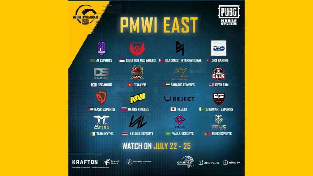 PUBG Mobile World Invitational 2021: Players to get free permanent rewards on peak viewership