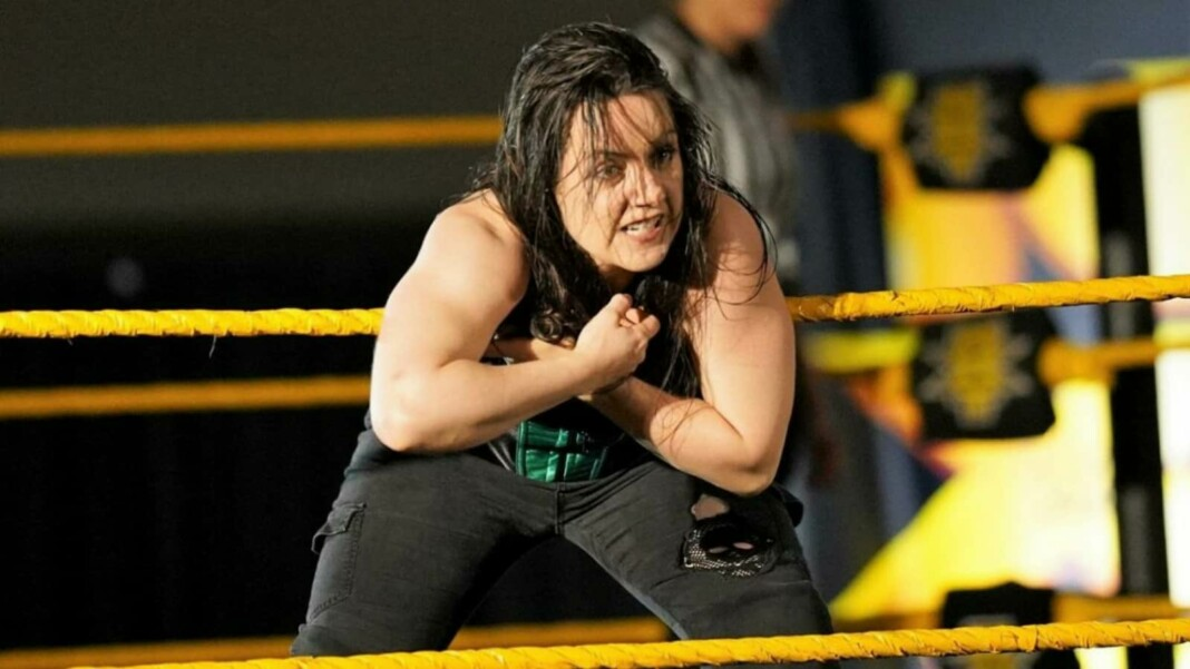 Nikki Cross is a former Women's Tag Team Champion