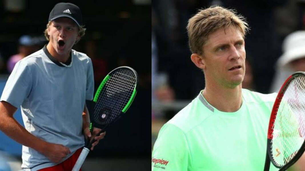 Jenson Brooksby and Kevin Anderson