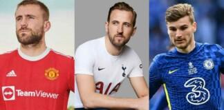 Premier League Home Kits 2021-22