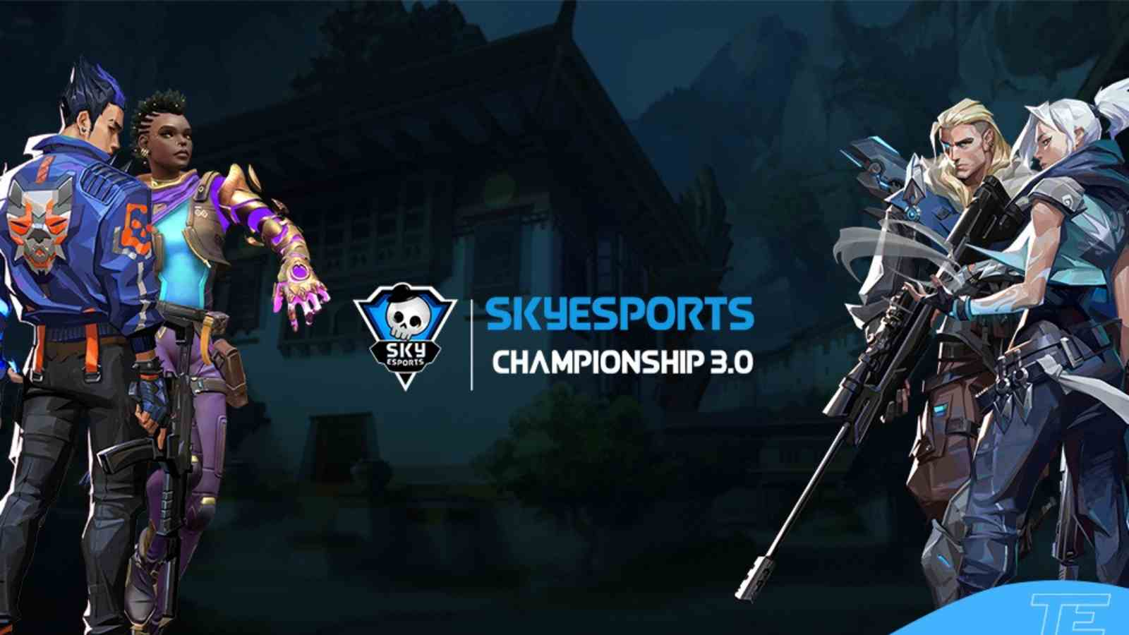 Valorant Skyesports Championship 3.0: Prize pool of INR 55 Lakh