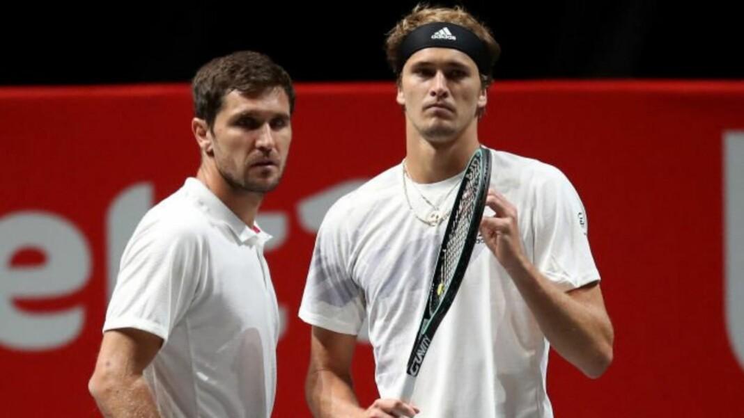 Mischa and Alexander Zverev