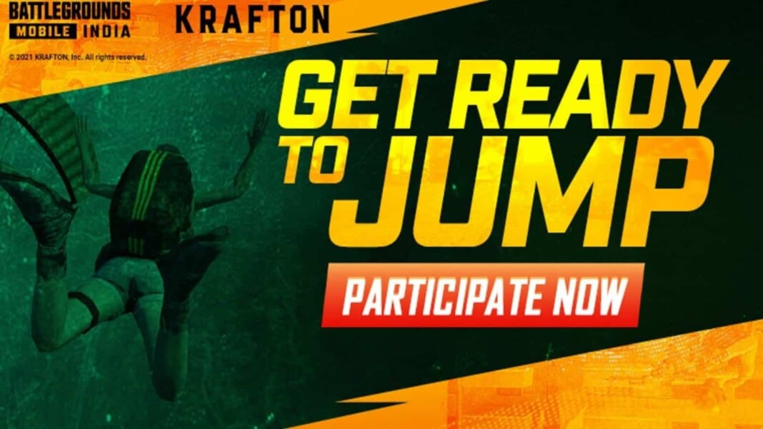 Battlegrounds Mobile India: Get Ready to Jump Event BGMI