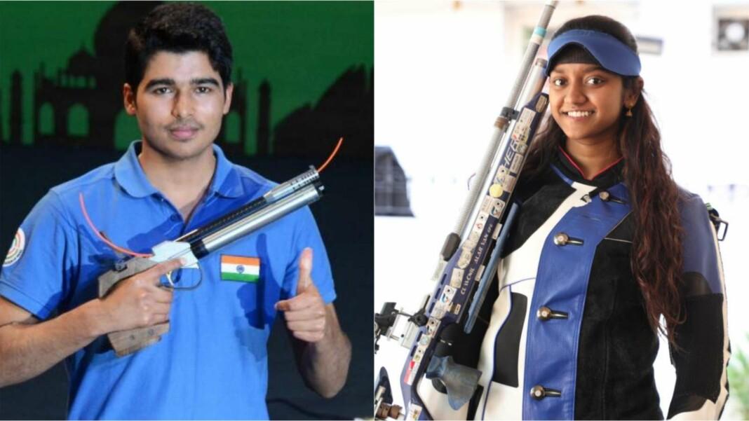 Saurabh Chaudhary and Elavenil Valarivan