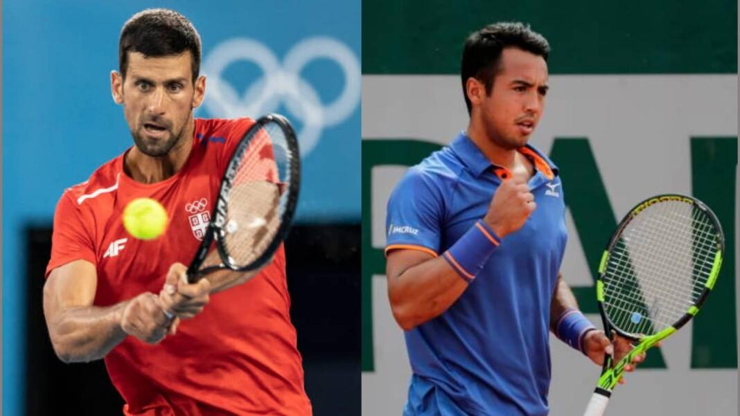 Novak Djokovic vs Hugo Dellien