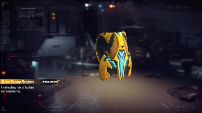 How to get Mclaren Racing Backpack skin in Free Fire for free? » FirstSportz