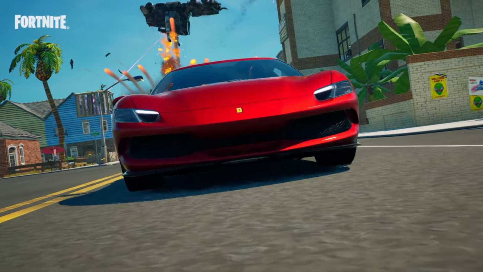 Fortnite Ferrari 296 GTB Locations: How to Complete The Time Trials