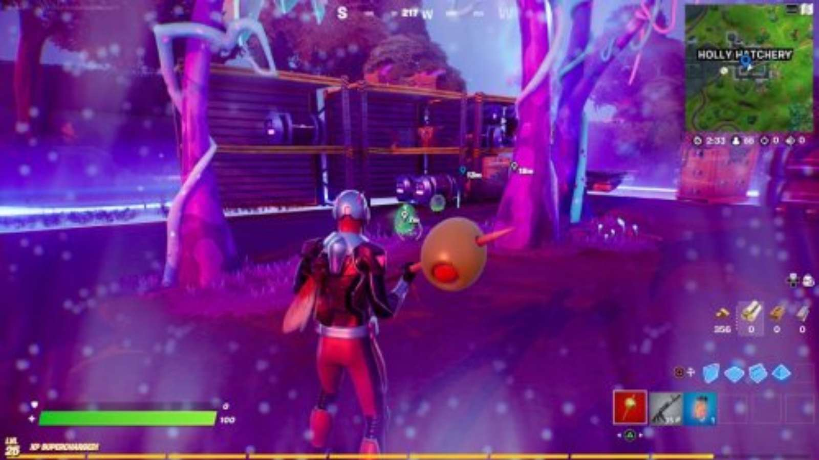 How to Mark an Alien Egg Fortnite: Locations in Holly Hatchery for Quest