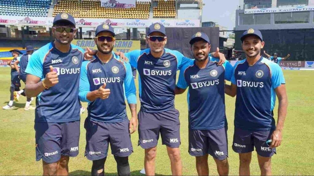 Five players made their debut for team India during 3rd ODI