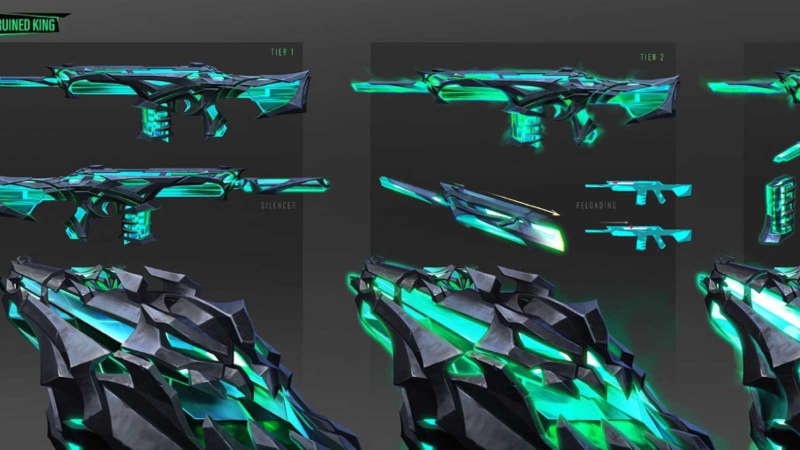 Valorant Sentinels of Lights, Ruination, and K/TAC Bundles