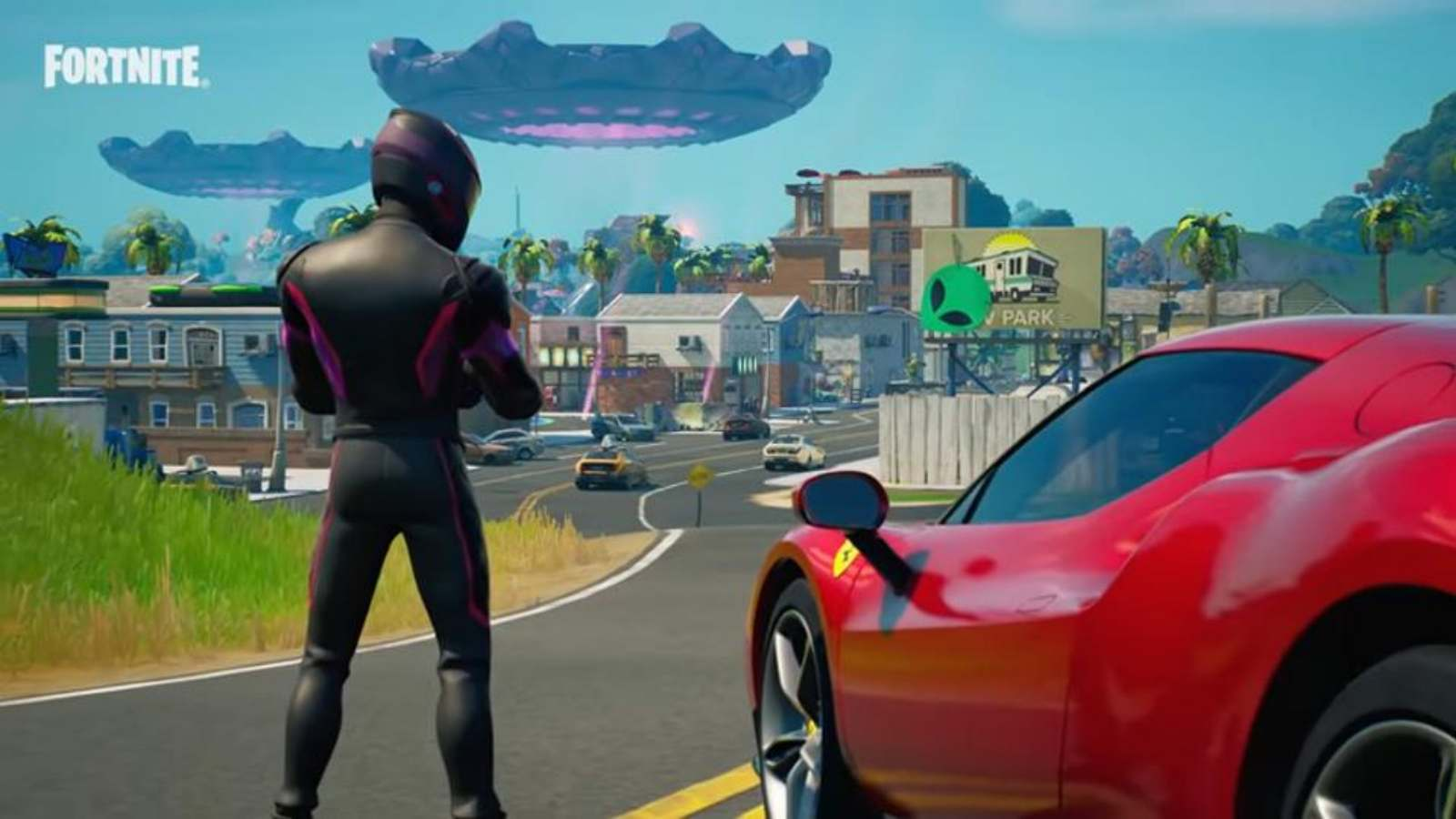 How to Complete the Fortnite Ferrari Time Trial Challenge in Season 7