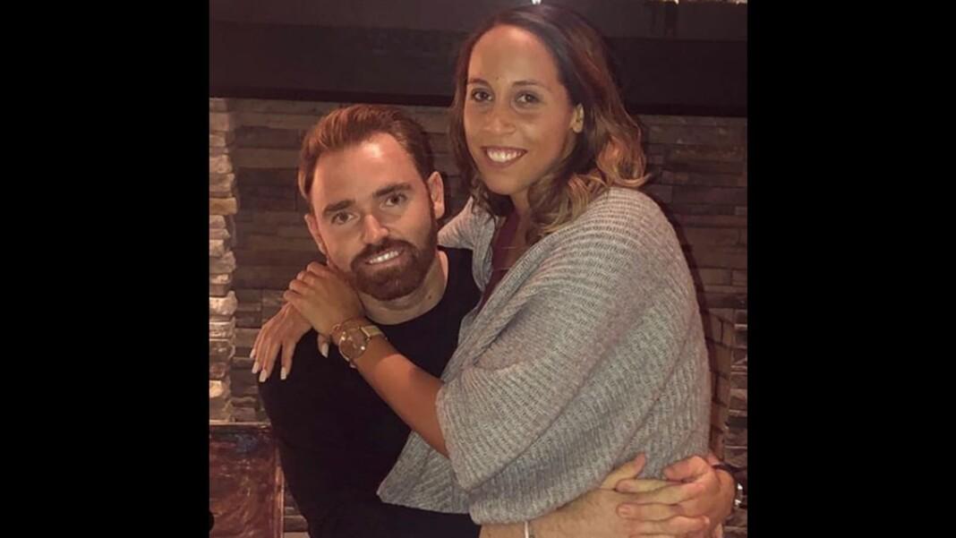 Madison Keys and his boyfriend