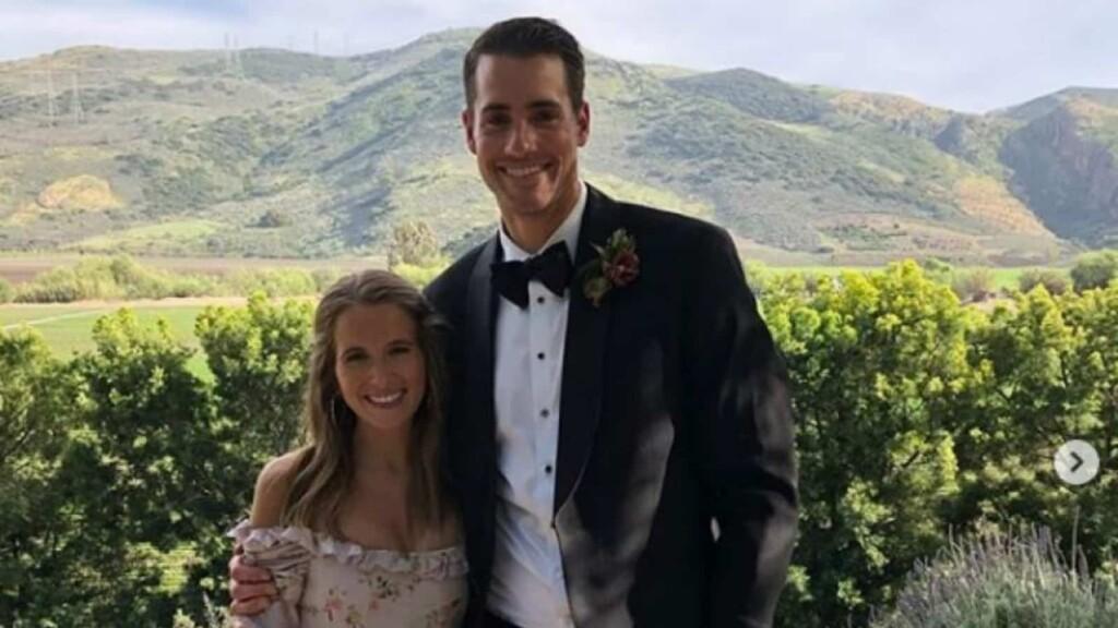 John Isner and his girlfriend