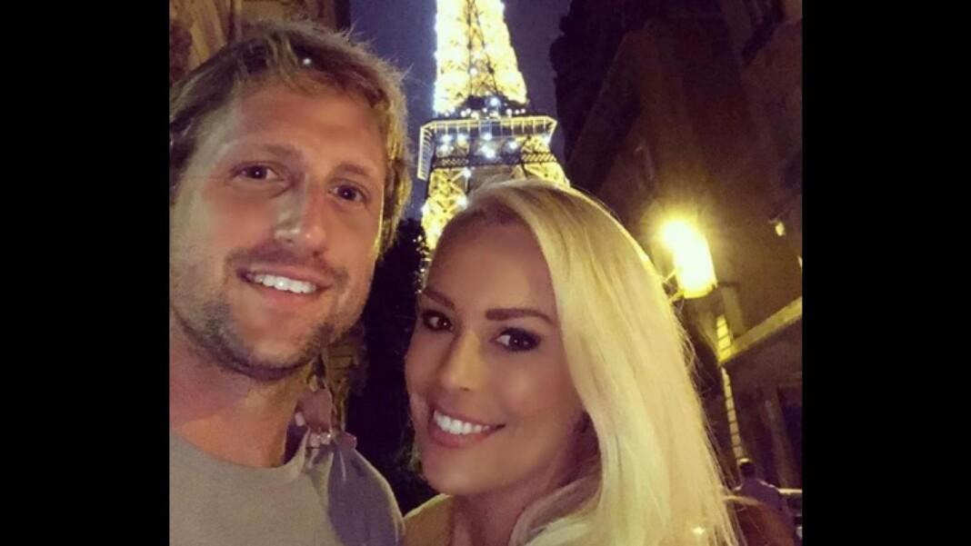 Tennys Sandgren and his girlfriend