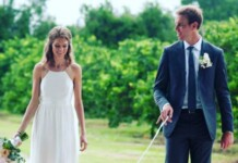 Sam Querrey and his wife