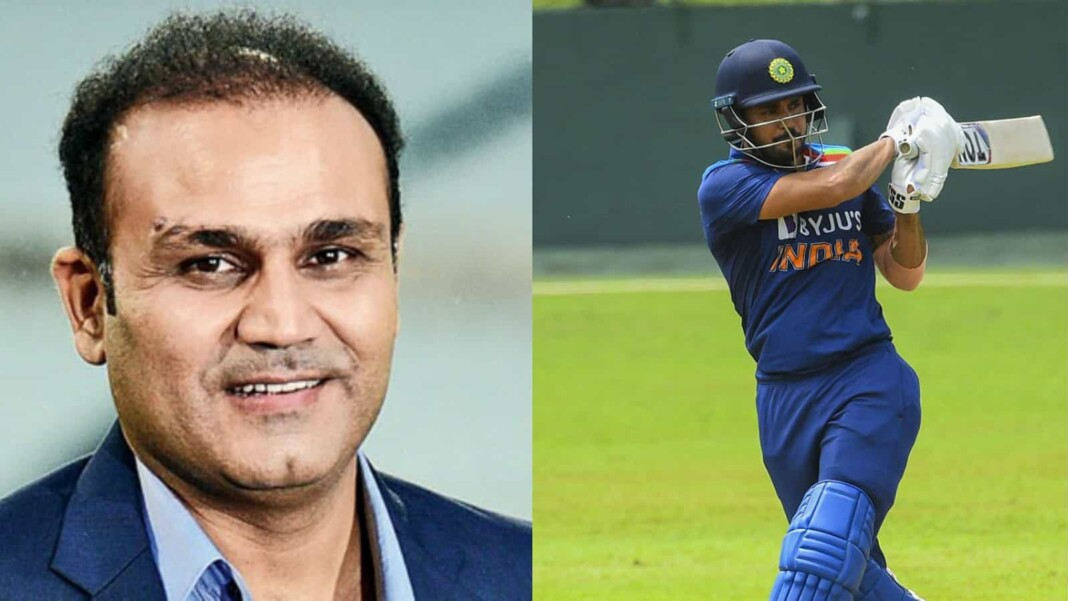 Virender Sehwag and Manish Pandey