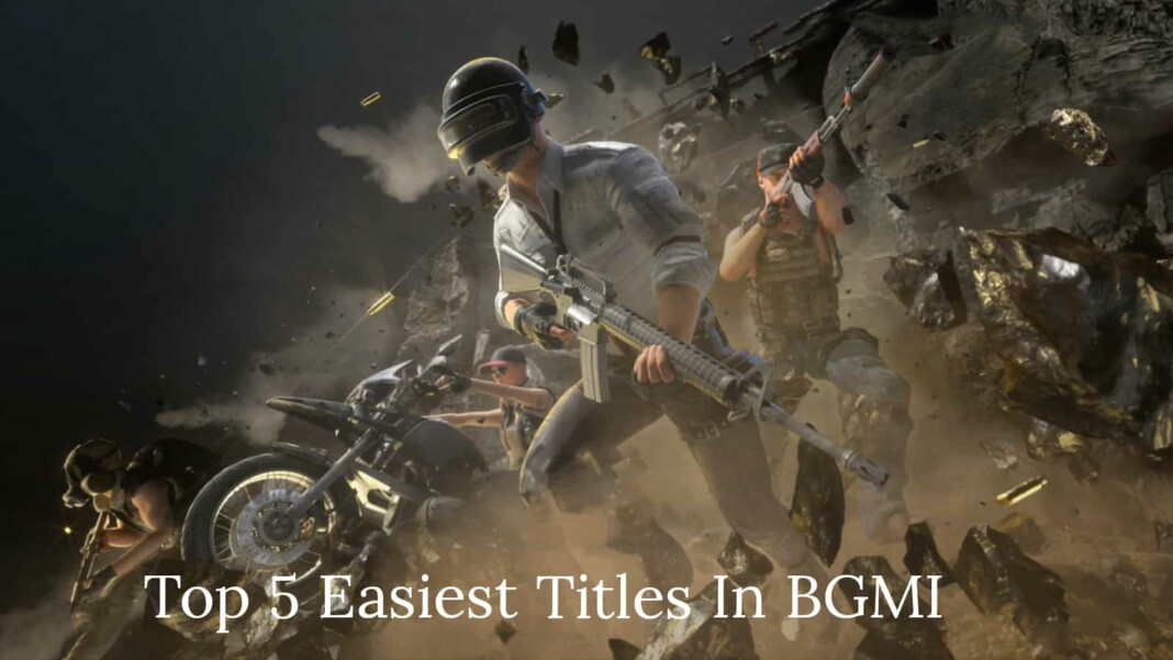 Battlegrounds Mobile India: Top 5 easiest titles to achieve in BGMI