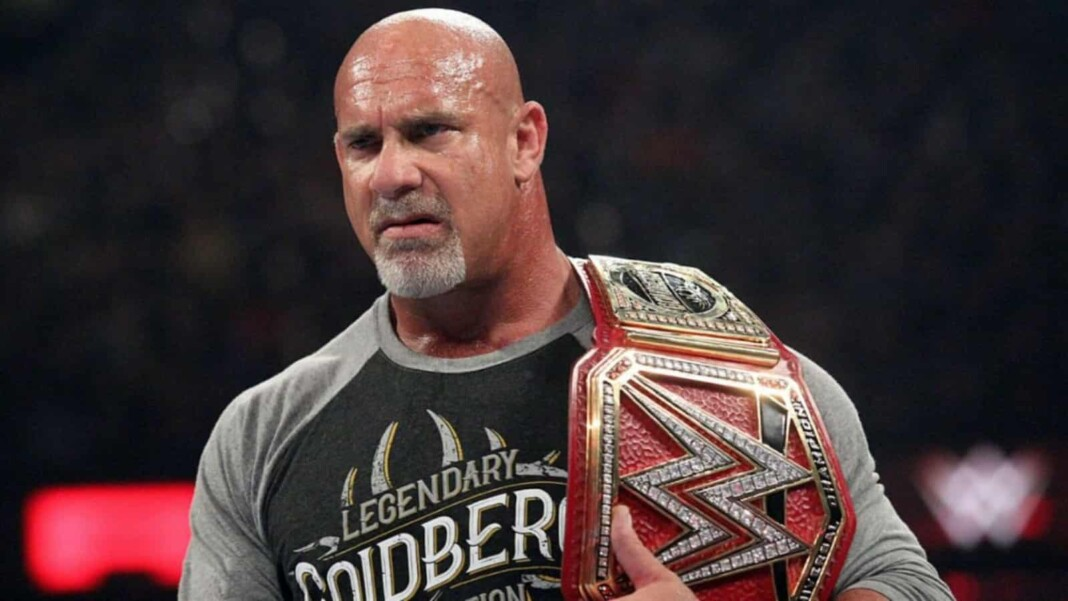 The list of Goldberg championship wins in WWE is not very long but impactful