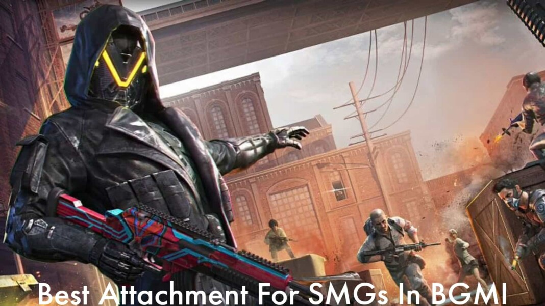 Battlegrounds Mobile India: Best attachments for SMGs in BGMI