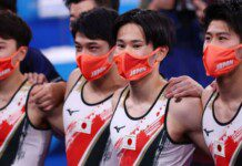 ROC, Japan and China bag medals in men's artistic all-around gymnastics; USA lose out