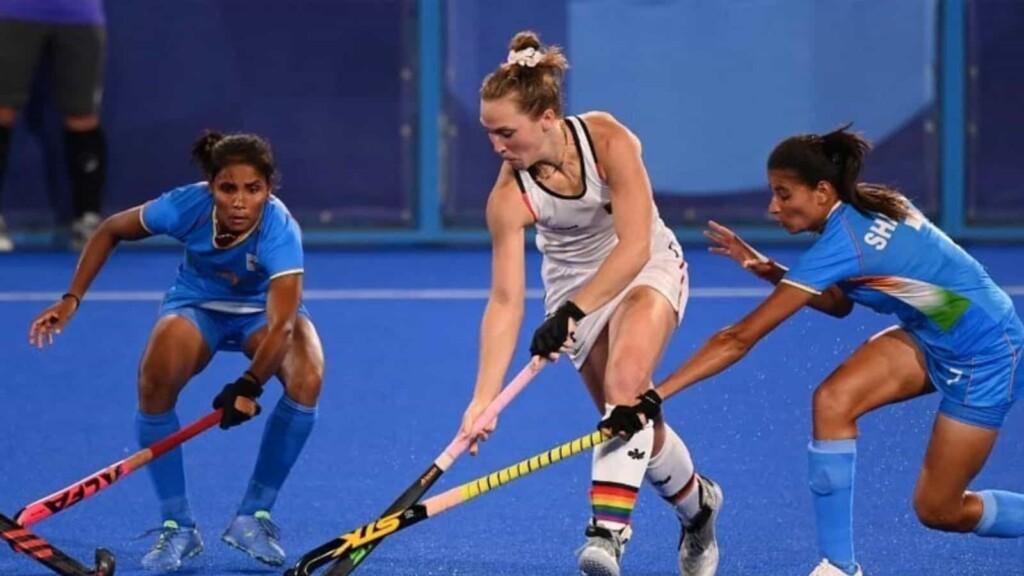 India vs Germany hockey match