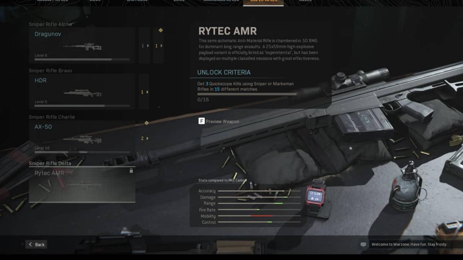 The Best Rytec AMR Warzone Loadout in Season 4