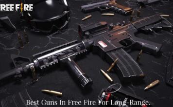 best guns in Free Fire