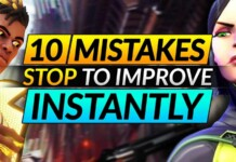 10 common mistakes in Valorant