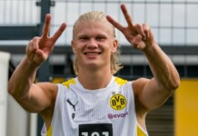 Borussia Dortmund sensation Erling Haaland responds to Chelsea rumours by quipping €175m is 'a lot of money for a player'