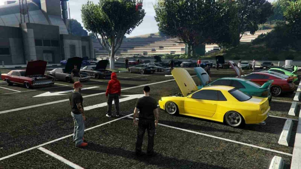 op 3 best places for car meets in GTA 5