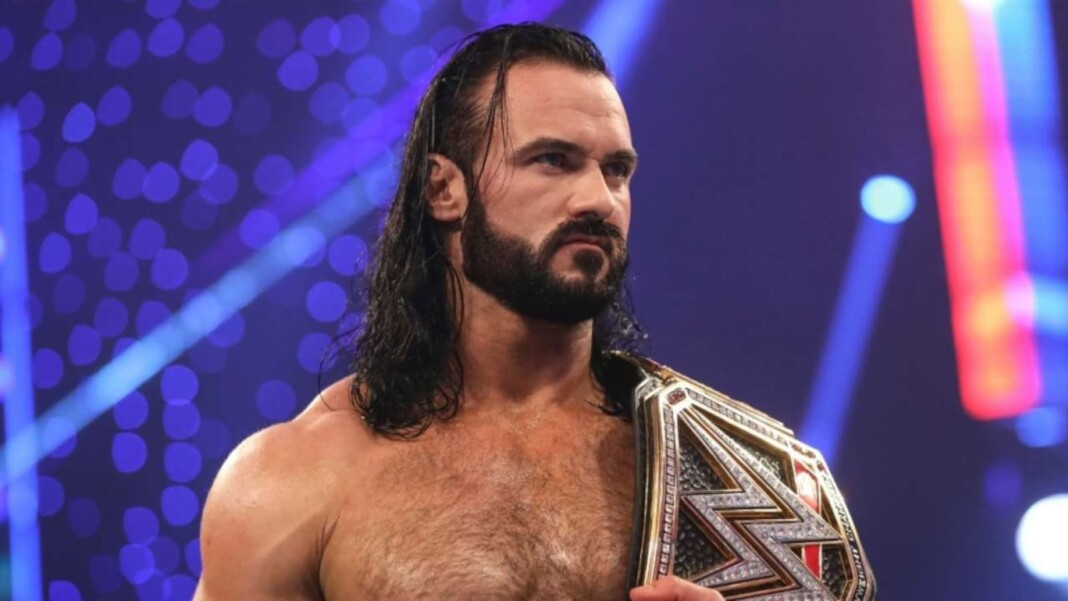 The list of Drew McIntyre championship wins include the world championship