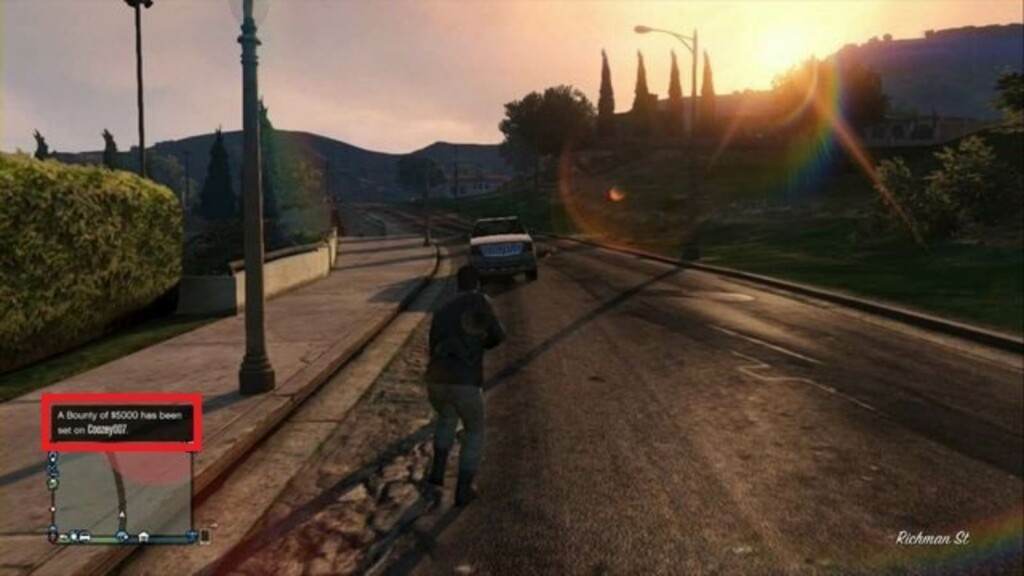 How to place a bounty on another player in GTA 5