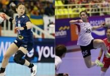 Japan vs South Korea women's handball