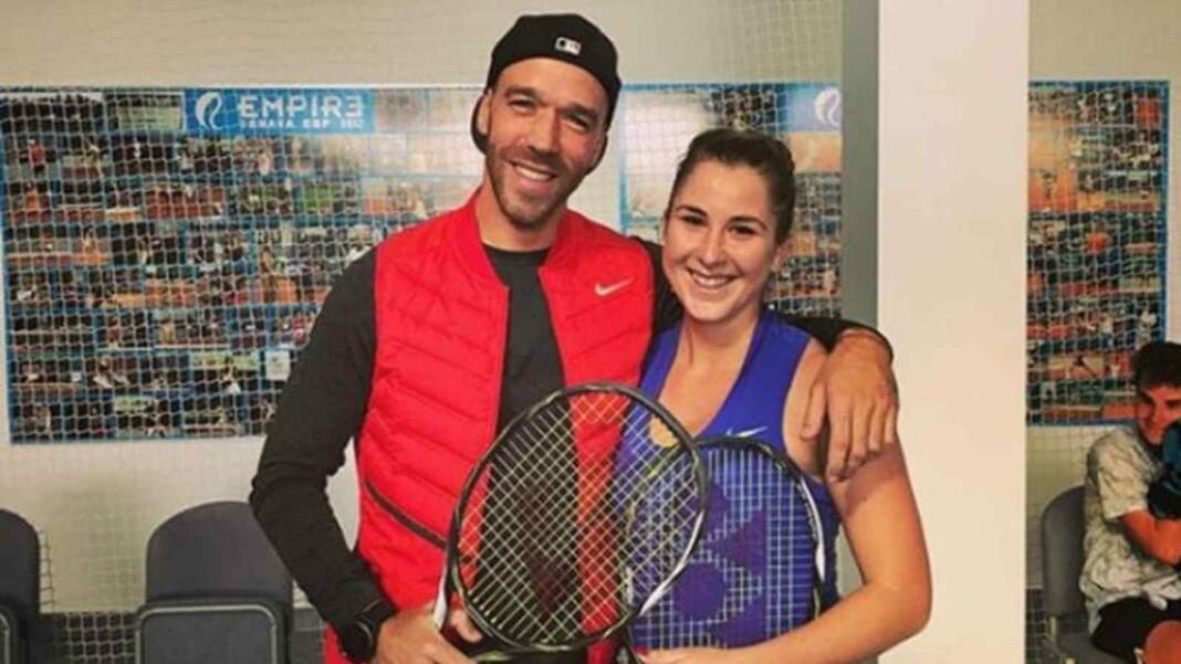 Martin Hromkovic and Belinda Bencic