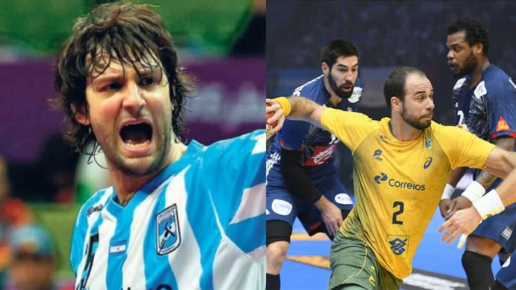 Argentina vs Brazil men's handball