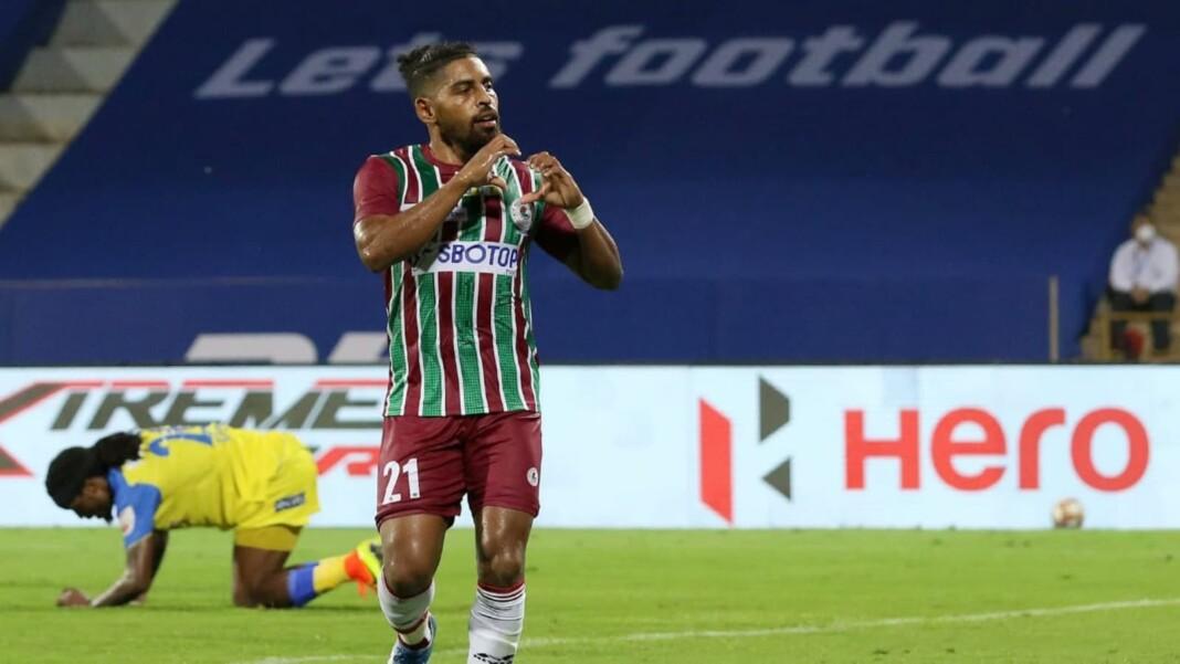 Fijian striker Roy Krishna renews his contract with ISL club ATK Mohun Bagan