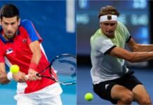 Novak Djokovic vs Alexander Zverev