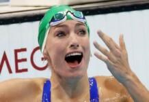 Tatjana Schoenmaker; swimming at Tokyo Olympics