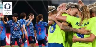 Tokyo Olympics 2020: Women's Football Quarter Final Sweden Vs Japan