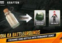 How to get the Road Rage Set for free in Sand Bottle Exchange Event BGMI?