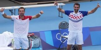 Marin Cilic and Ivan Dodig