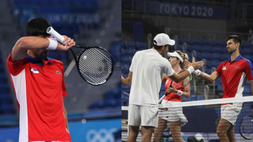 Novak Djokovic mixed doubles