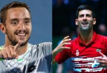 Viktor Troicki and Novak Djokovic