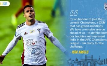 Mumbai City announces Igor Angulo
